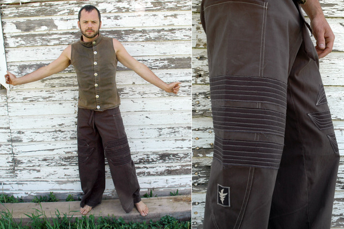 $125~ Mens Full Length Pant, with Pacha stitch down the side of the pant. Comes with a pocket on each side, made from a soft cotton stretch twill. This is a straight leg pant..