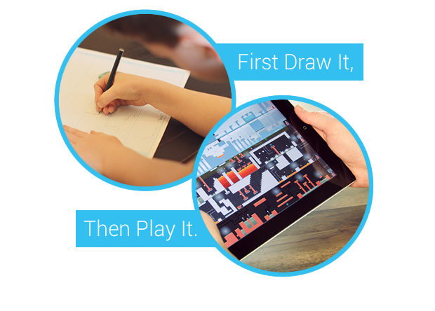 Pixel Press Draw Your Own Video Game by Robin Roundthird Kickstarter