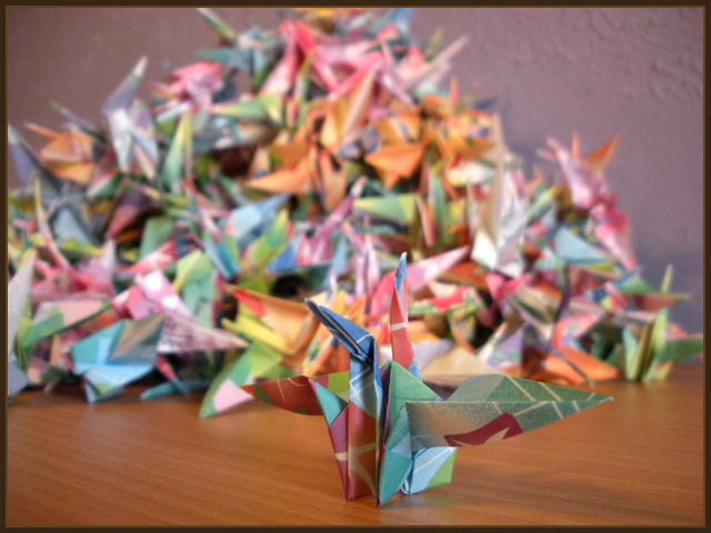 Fold 1000 Origami Cranes And Your Wish Will Come True Come Blog