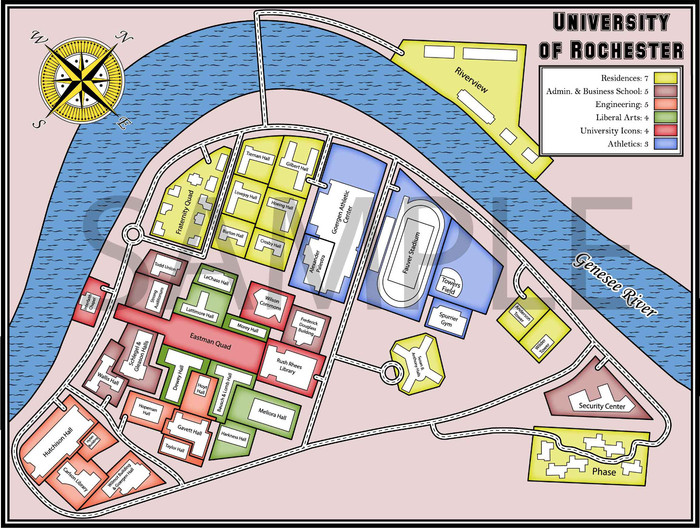 University of Rochester (Engraved Available, Classic Board Style to be Unlocked Soon!)