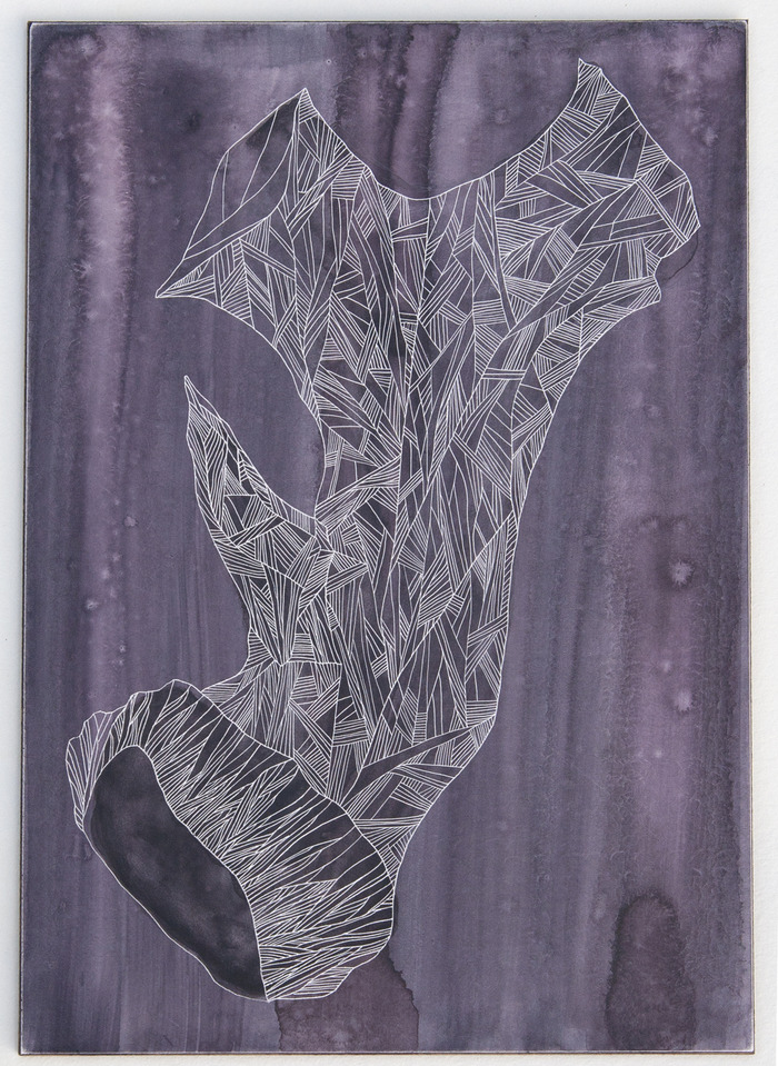 """Antler Study; Purple"""