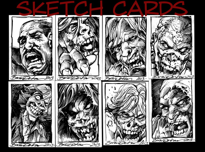 More Sketch Cards. These are the same size as Poker Cards