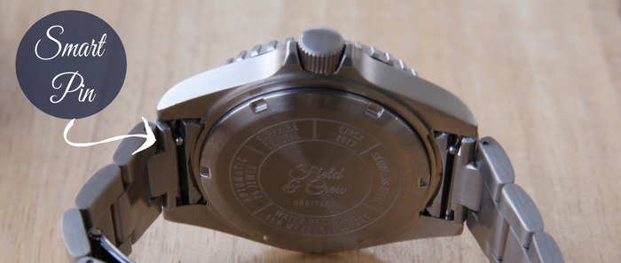 Heritage Watch Case & View of Smart Pin