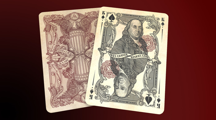 Unlimited & Limited Edition Reserve Note King of Spades, Click here for high res image