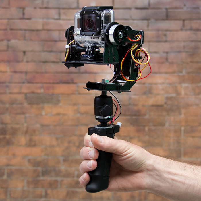 This motorized, handheld camera stabilizer will revolutionize action cinematography.
