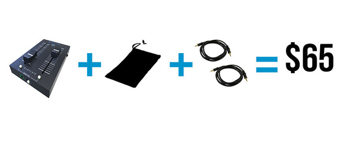 Our offer: Djoclate II + Pocket Pouch + 2 x 3.5 jack cable