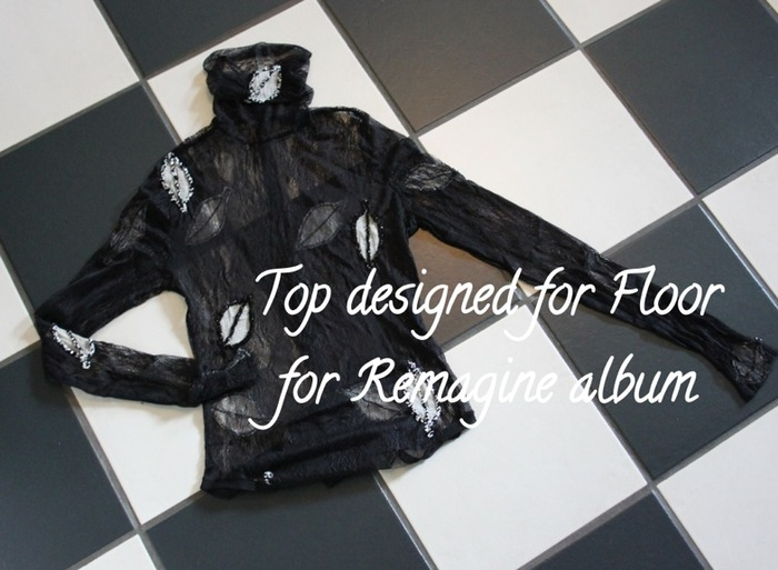 Remagine top worn by Floor