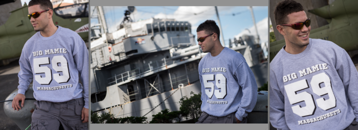 Battleship Cover Sweat shirts