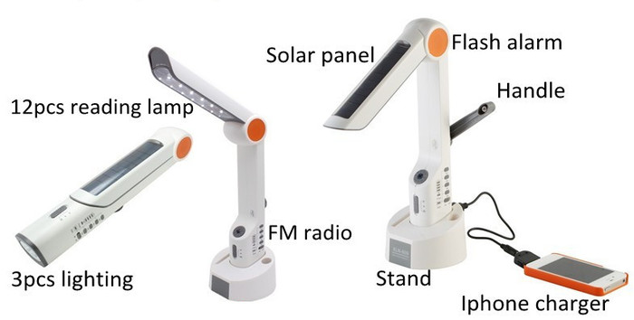 The Shadows and Light branded pocket/desk/emergency lamp