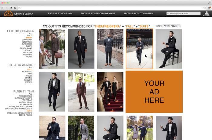 The Style Guide A Personal Styling Shopping Platform For Men Indiegogo