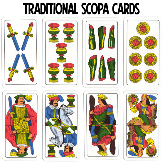 scopa card game rules