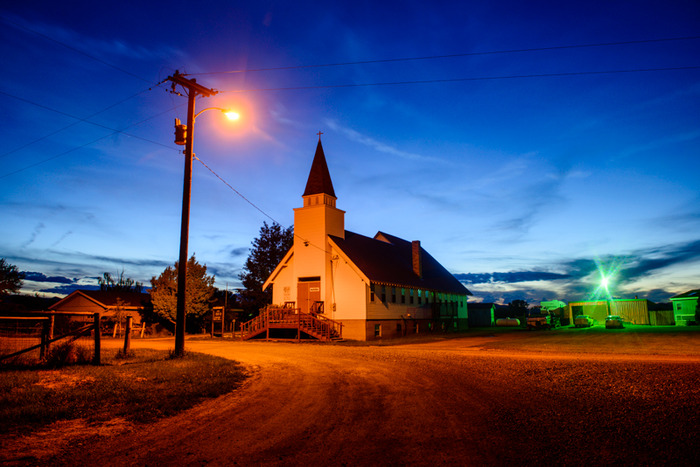 """Country side church in Montana - Making """"ordinary"""" great"""