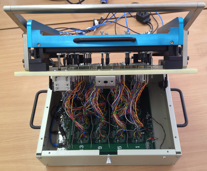 Manufacturing Test Jig to Evaluate Panels of up to 16 PIPs