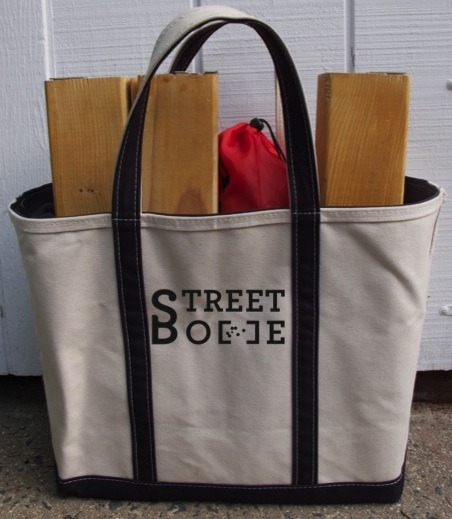 New Street Bocce Canvas Bag