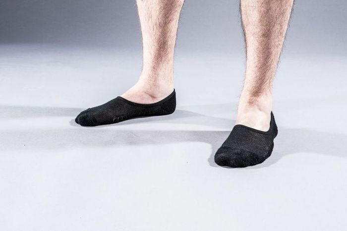 Prototype of the Atlas Loafer Sock