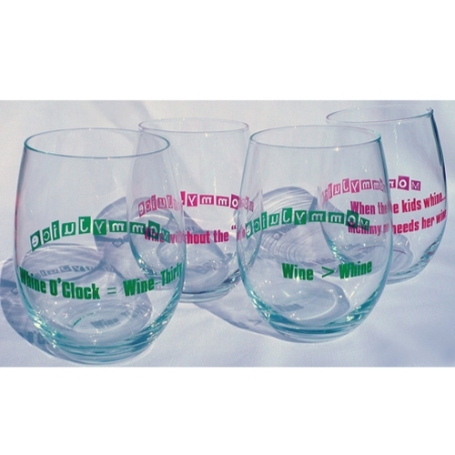 MommyJuice Wine Glasses