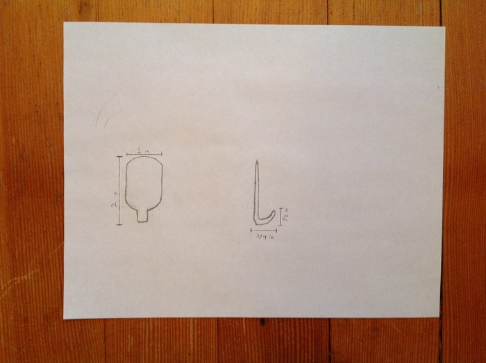 First Sketch Of The Smart Hook