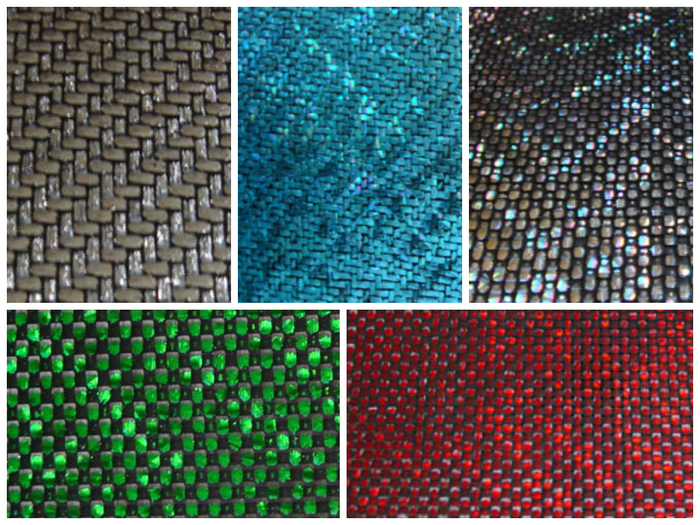 Top- Chrome, Blue, Silver Bottom-Green, Red