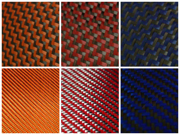 Top- (Dual Twill) Orange, Red, Blue Bottom- Orange, Red, Blue