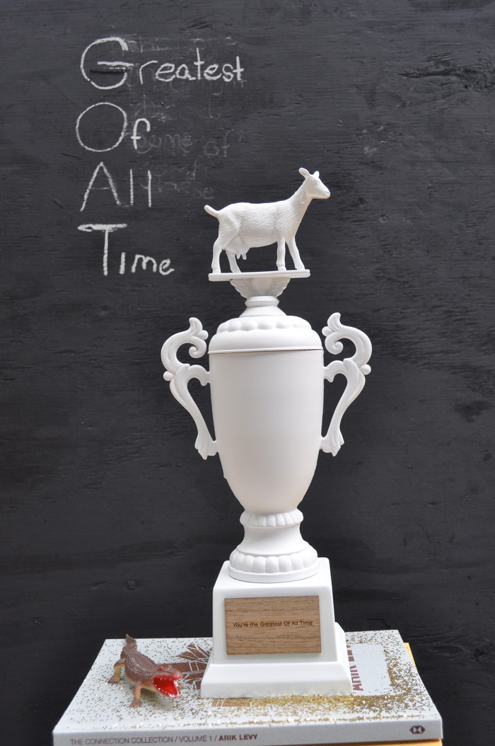 """Greatest Of All Time"" trophy"