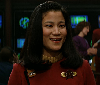 Jacqueline Kim as Demora Sulu in STAR TREK: GENERATIONS