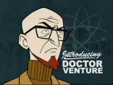 James Urbaniak, the voice of Dr. Venture from THE VENTURE BROS.