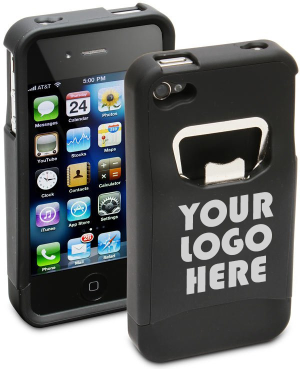 Premium Backers Can Choose Any Logo Or Design For Their Custom Case