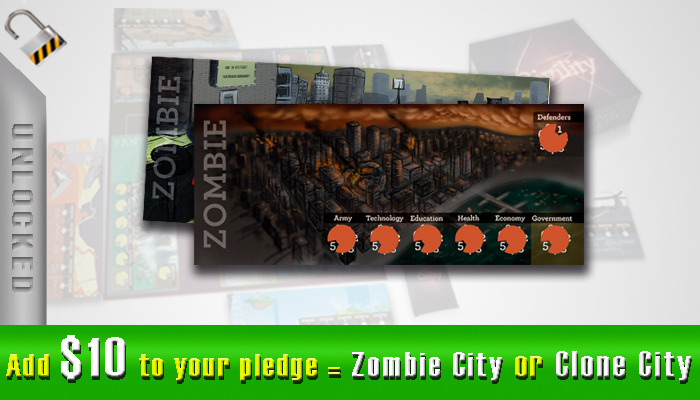 $10 - Zombie City or Clone City