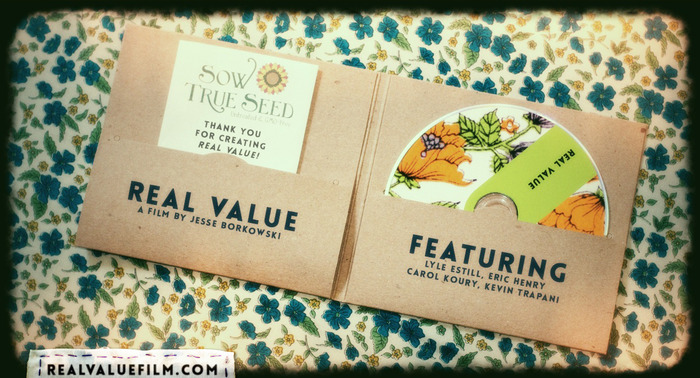 Real Value DVD Mock-up - Inside