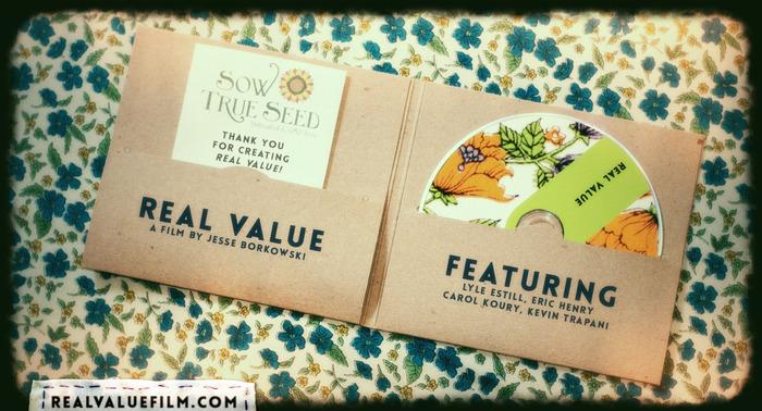 Real Value DVD Mock-up - Inside