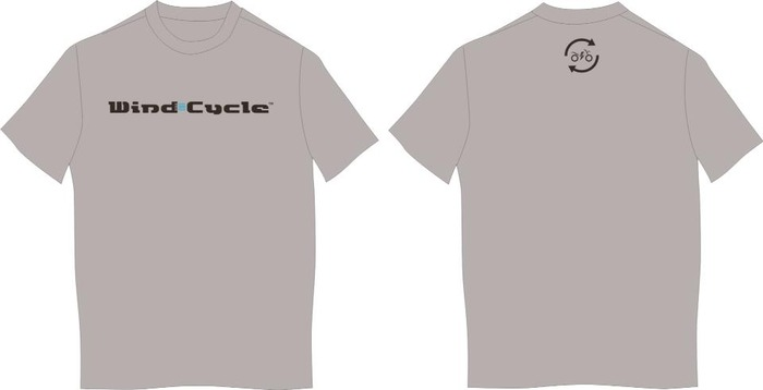 Wind Cycle T-Shirt Rendering