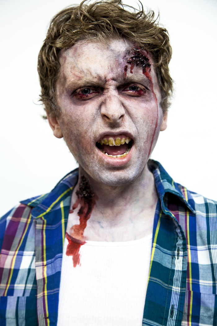 "Gotham FX Zombie Makeup Test for ""Fairfield"""