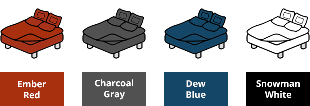 4 colors to choose from, maybe more with stretch goals!