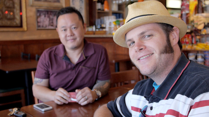 "Featured in the film: Randy Clemens, author of ""The Sriracha Cookbook,"" and chef Jet Tila, Thai Culinary Ambassador to America."