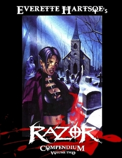Everette Hartsoe's Razor Compendium V1. 478-pages(Hardcover)-$70 collects issues #26-50