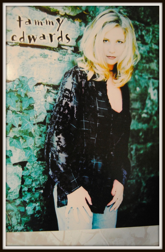 "Tammy Edwards poster from the ""Widow's Mite"" CD"