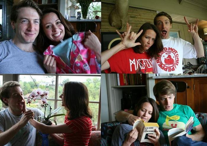 Through the magic of acting, Amy Acker and Fran Kranz brought Krysta and Todd to life.
