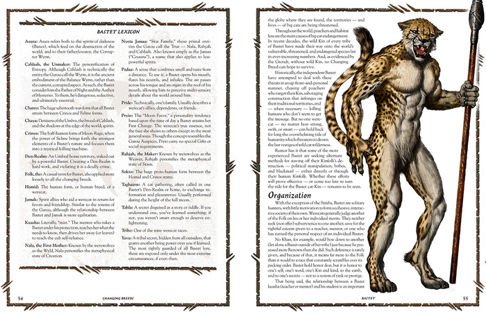 Page Spread From Bastet Section