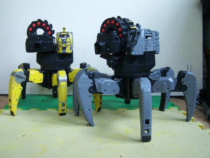My custom Vanguard Strider, and an unpainted Spider Tank Mark 6.  Paint it yourself, or leave it grey!