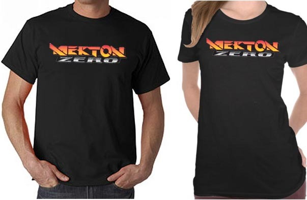Mock Ups of the Mekton Zero T-Shirt