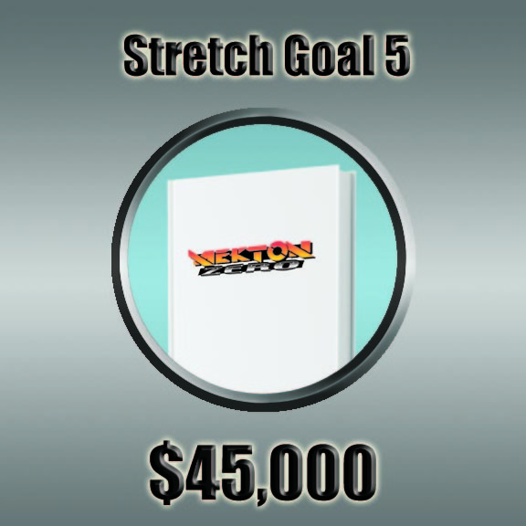 At Stretch Goal #5 we'll print the Mekton Zero Core Book in Hard Back format!