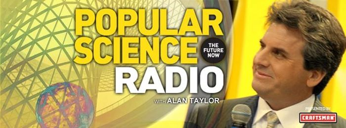 Popular Science Radio Interview with the award winning TV and Radio host, Alan Taylor!