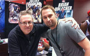 Ron Marz & Daron at C2E2 2013