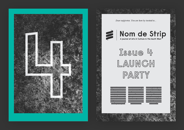 Invite to the Issue 4 launch party