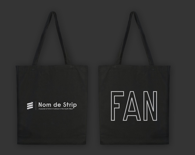 "Limited edition ""FAN"" tote bag"