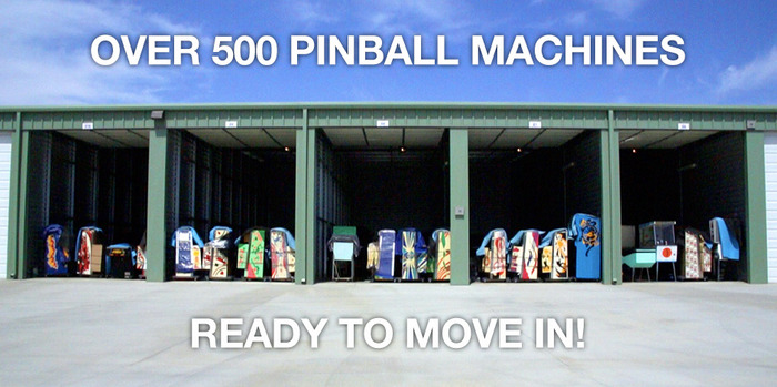 CLICK HERE to see the list of machines to be displayed at the Museum of Pinball.