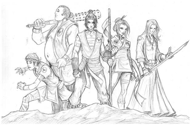 Último Dragón's Crew