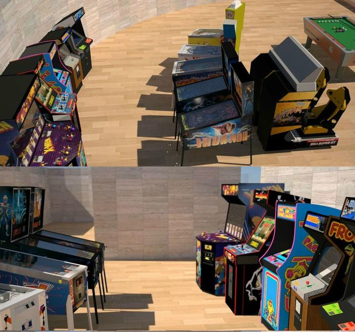 Virtual Arcade concept