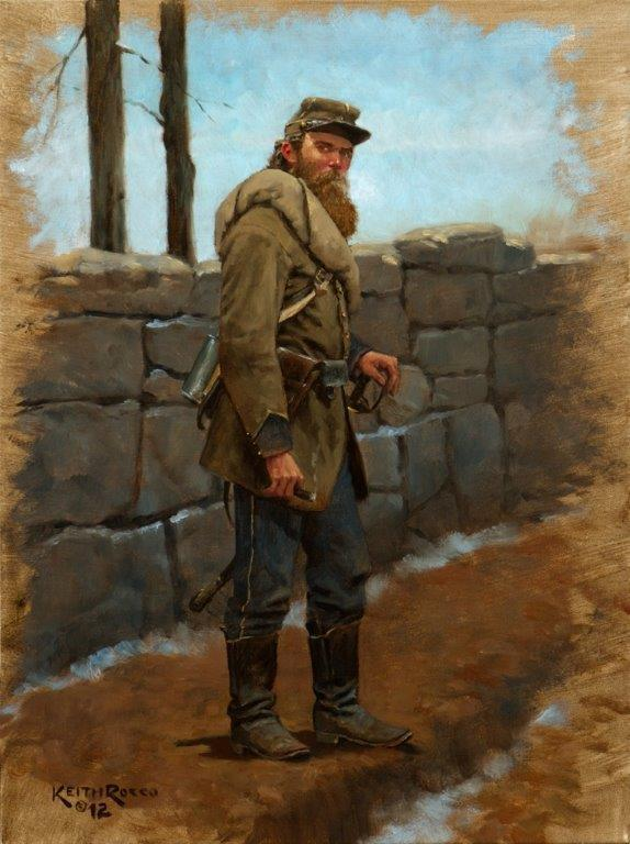 """""""Lee's Miserables"""" by Keith Rocco is one of the two giclée prints at the BRIGADIER GENERAL pledge level.."""