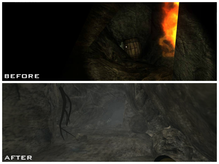 A cave in Middle of Nowhere with the improved models, graphics and detail #1